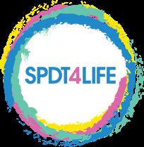 SPDT 4 LIFE Logo